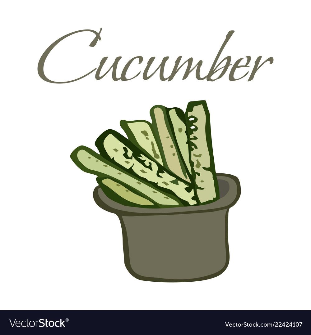Tasty veggies cucumber