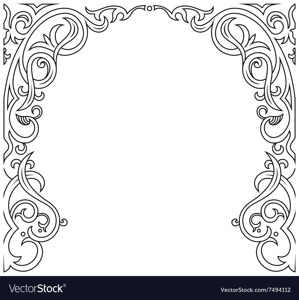 Arabic greeting background arch muslim royalty free vector arabic greeting background arch muslim vector image m4hsunfo