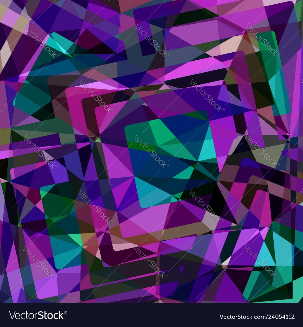 Geometric polygonal background design