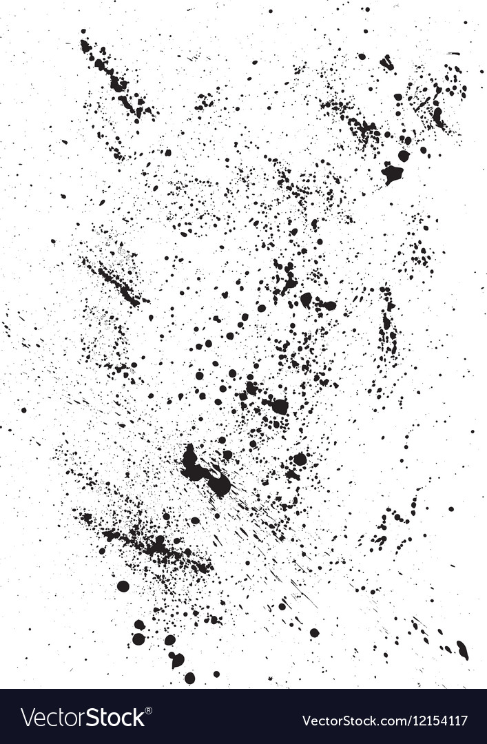 Abstract Background with black blots and ink
