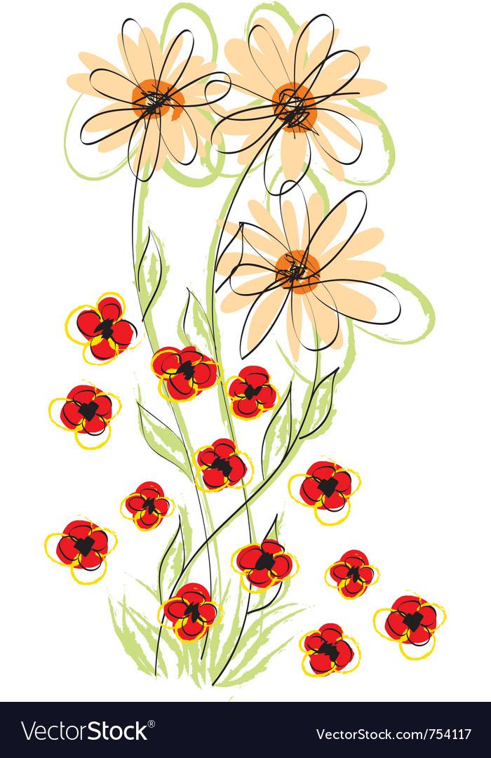 Flowers hand made