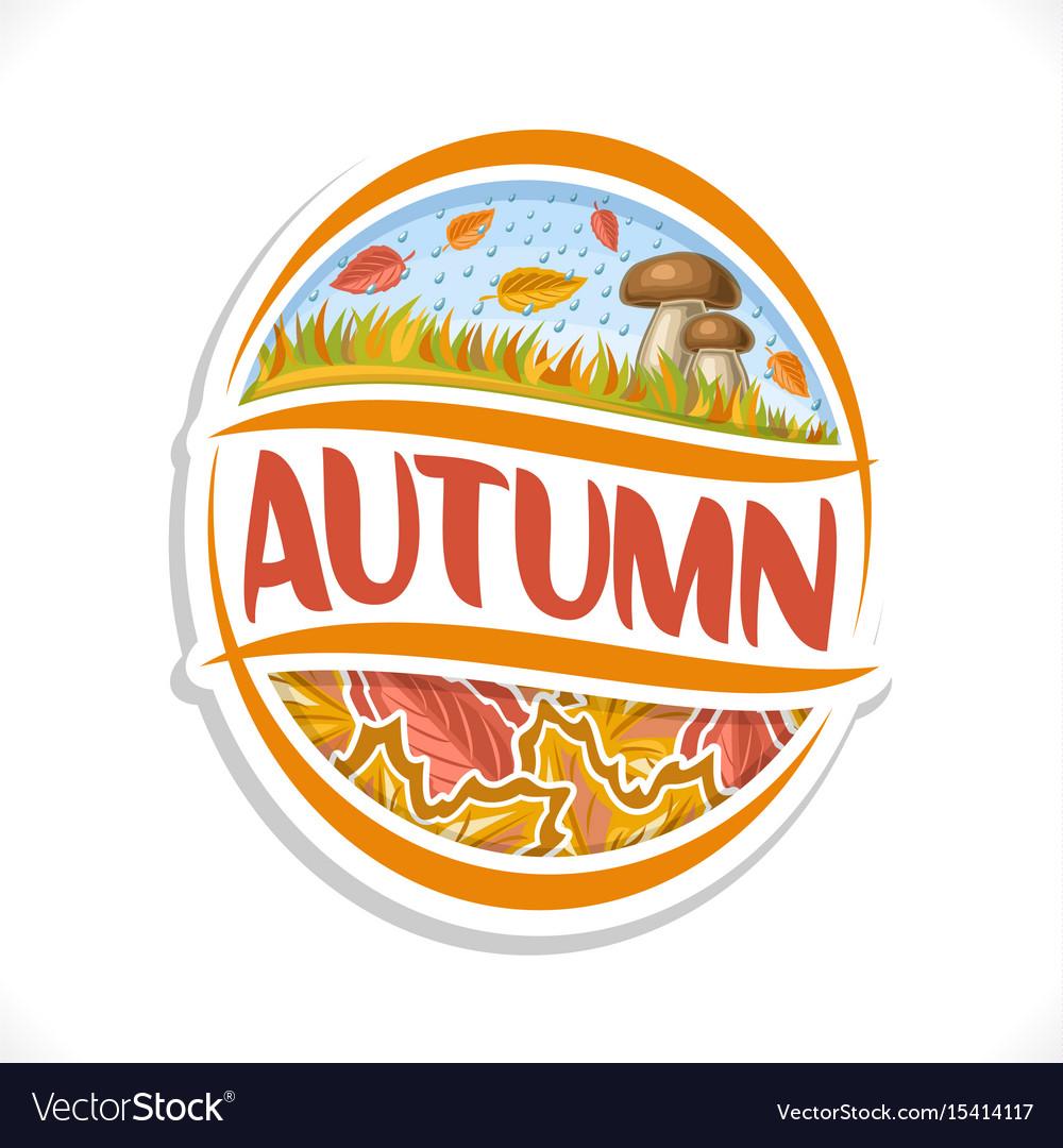 Logo for autumn season