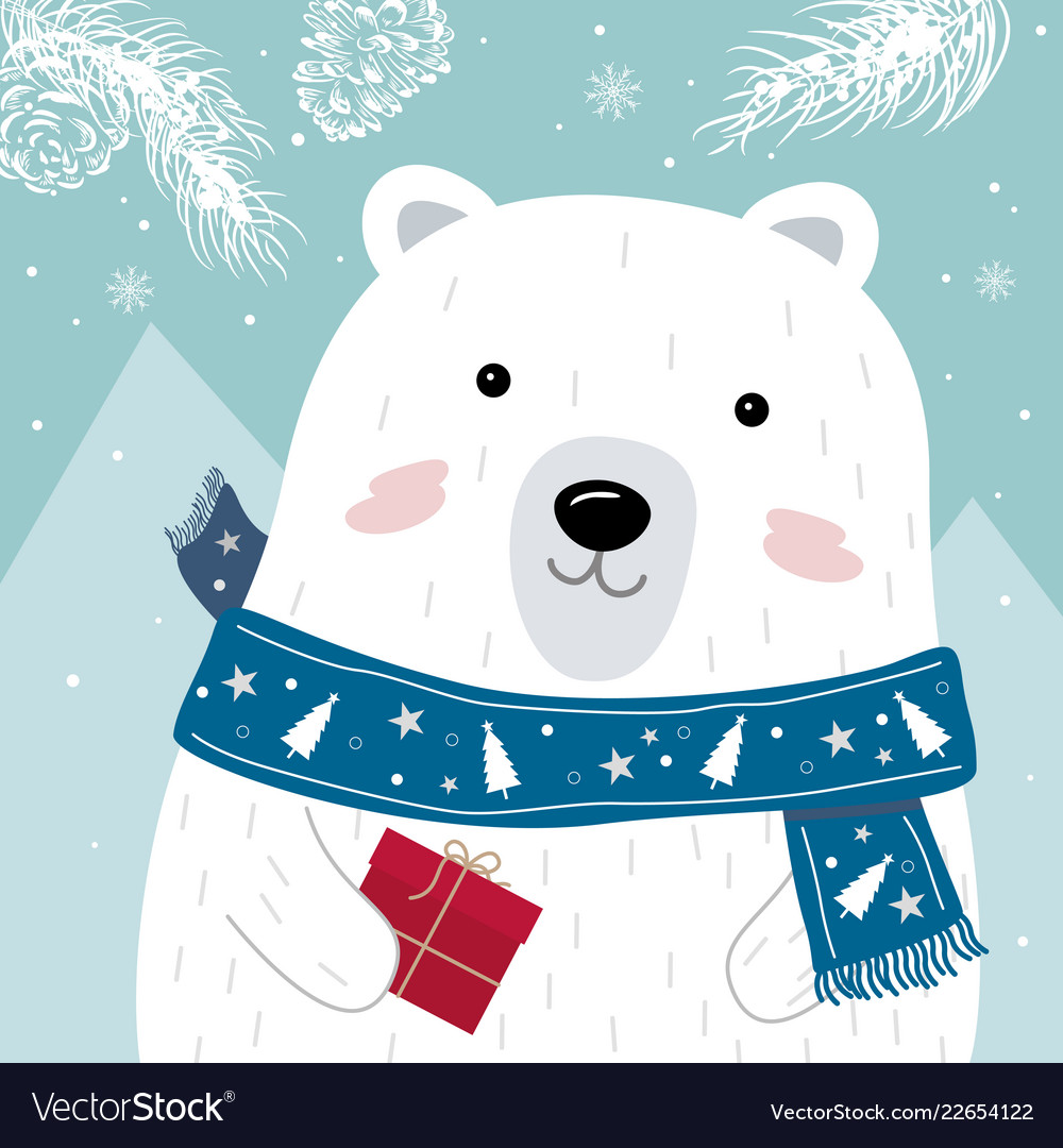 Christmas and new year greeting card design