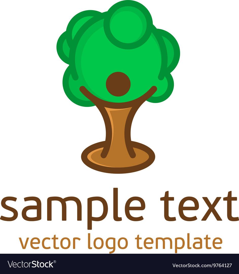 Logo nature pattern