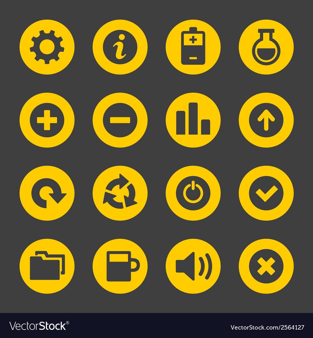 Universal Simple Web Icons Set 2