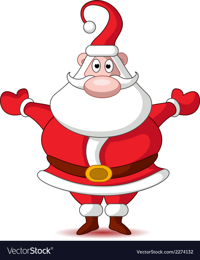 Cute christmas santa claus