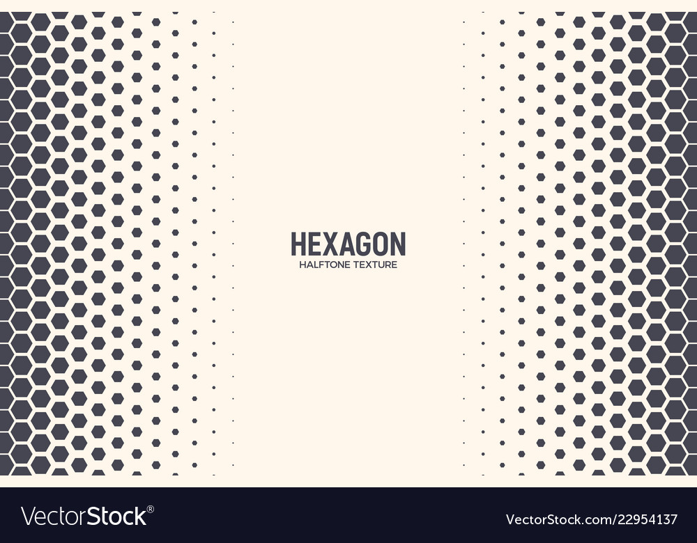 Hexagon abstract technology background