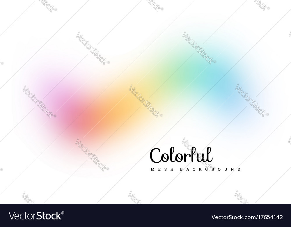 Abstract colorful mesh background