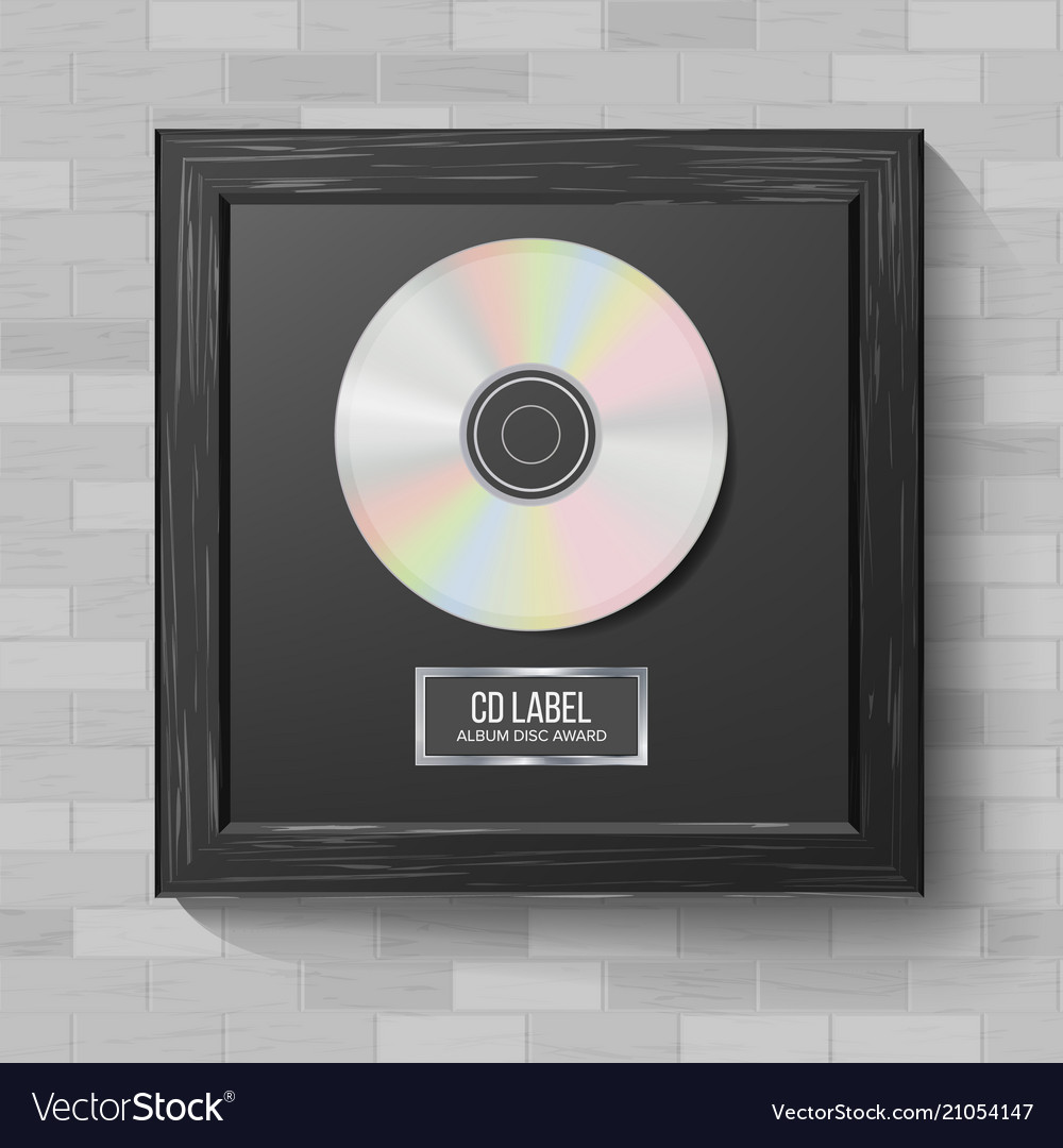 Cd disc award modern ceremony realistic