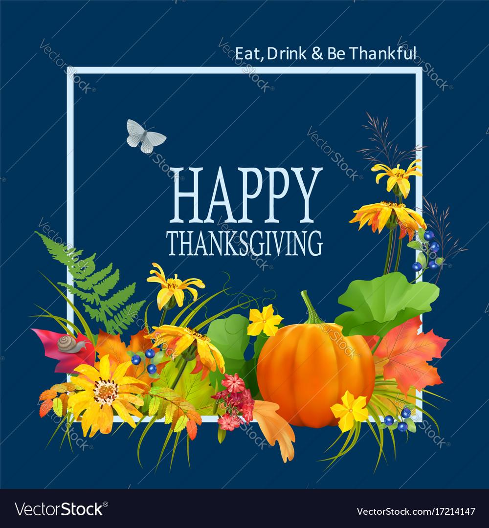 Thanksgiving card