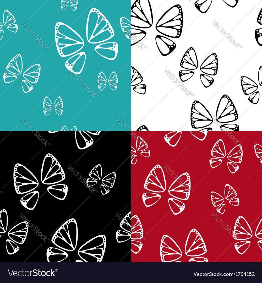 Butterfly pattern set
