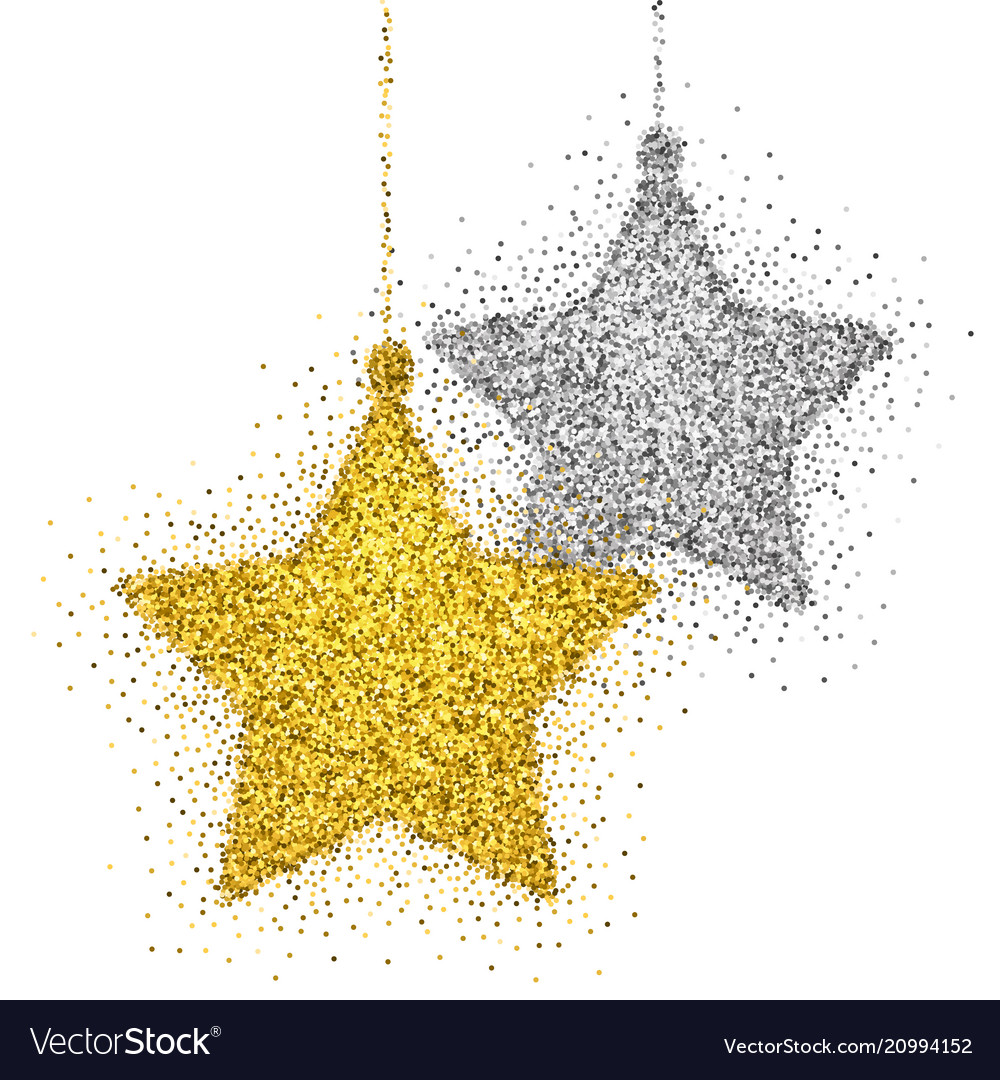 Christmas decoration with sparkling light effect