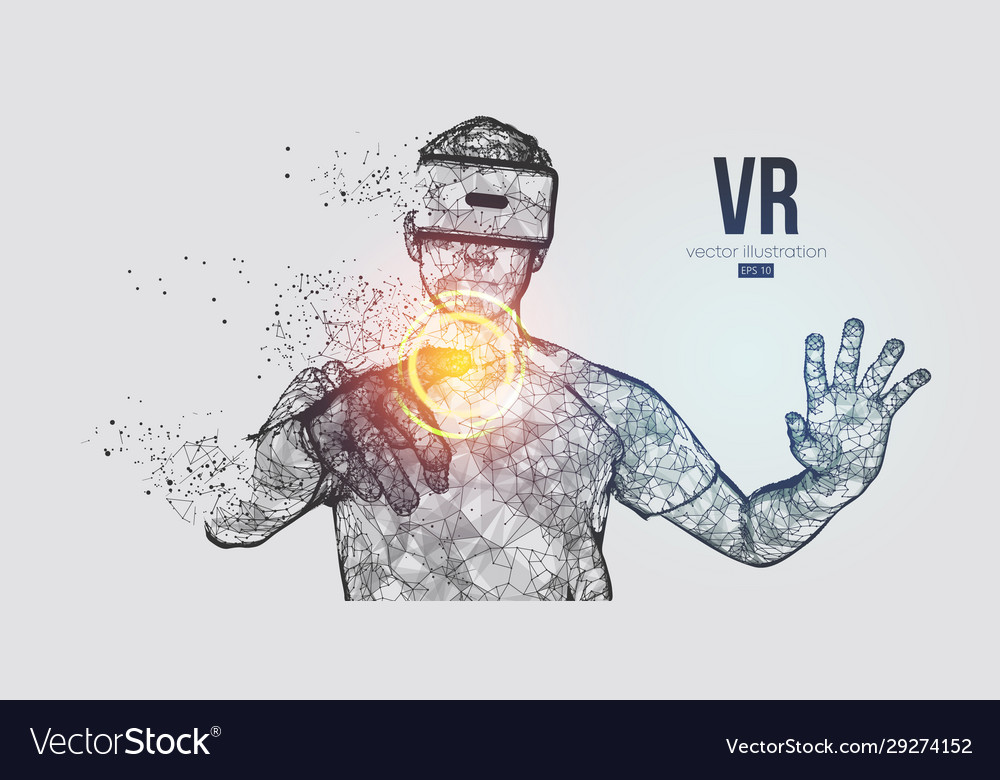 Vr headset virtual reality glasses