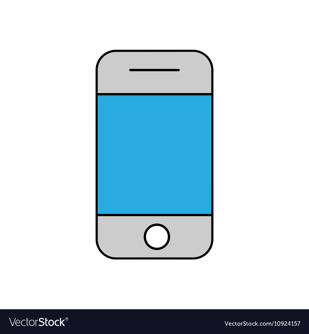 mobile phone outline icon linear royalty free vector image rh vectorstock com mobile victory polaris mobile al mobile vectra #2 sds