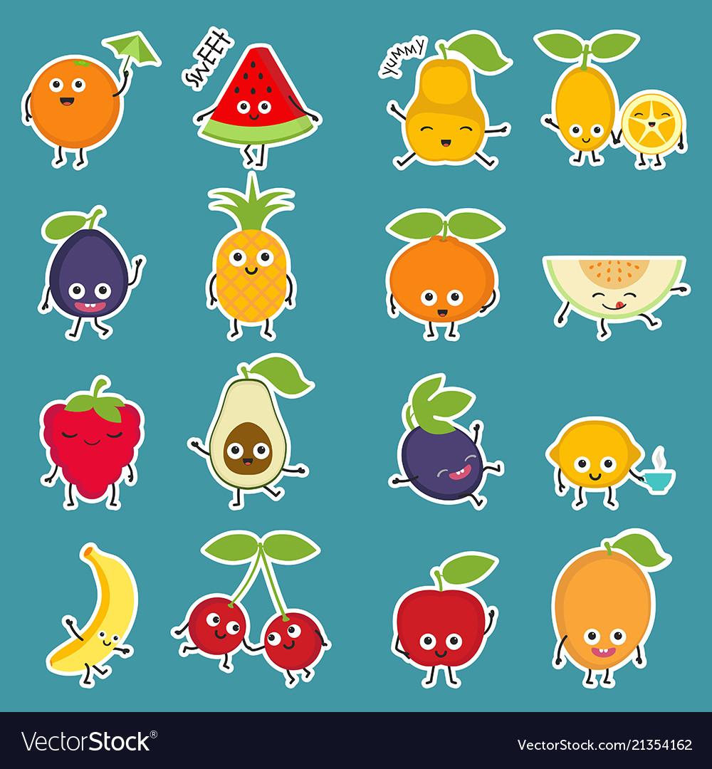 Cartoon fruits cartoon fruits