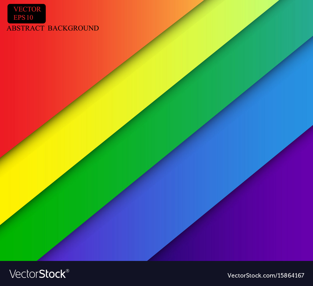 Colorful wallpaper banner design vector image