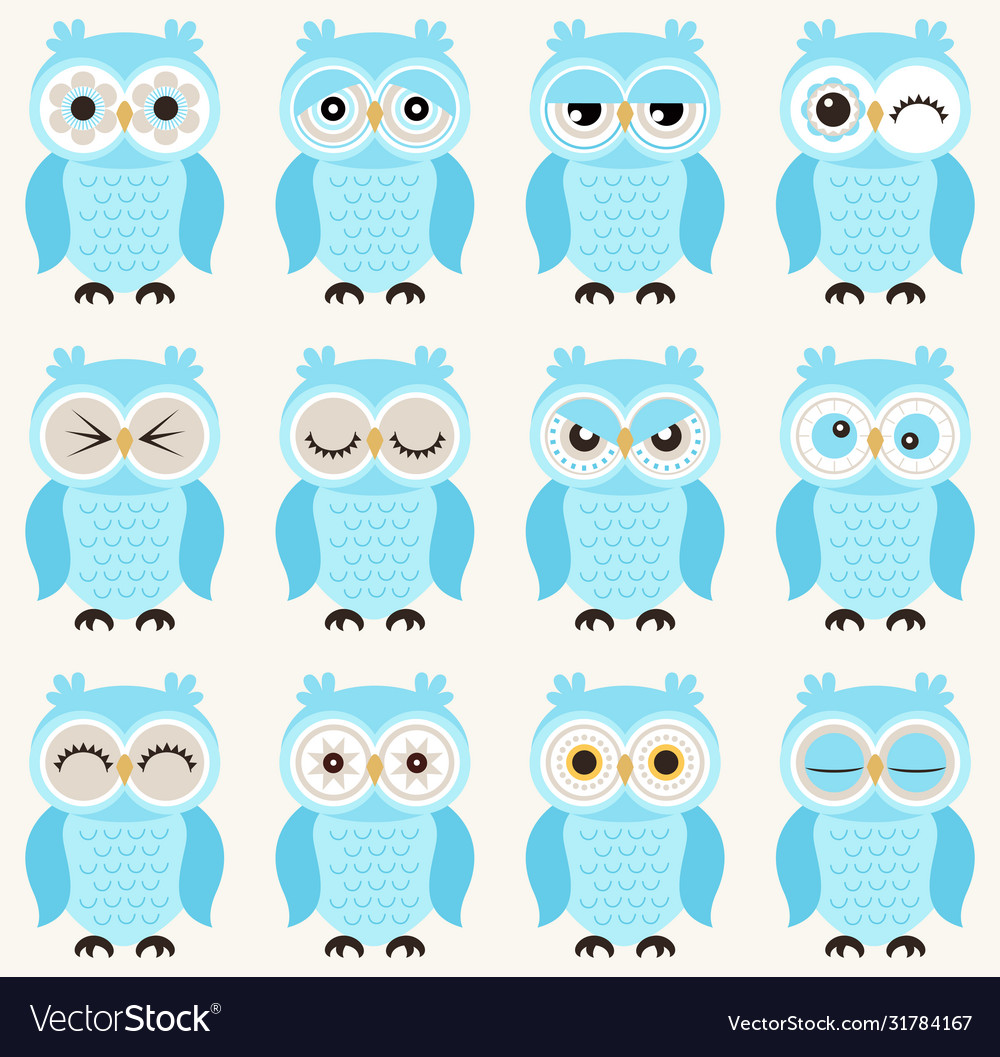 Seamless cute baowls emoji icon pattern funny vector
