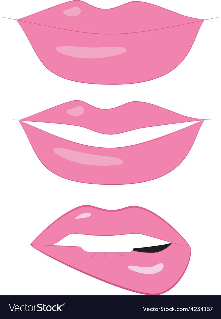 Set of 3 LIPS