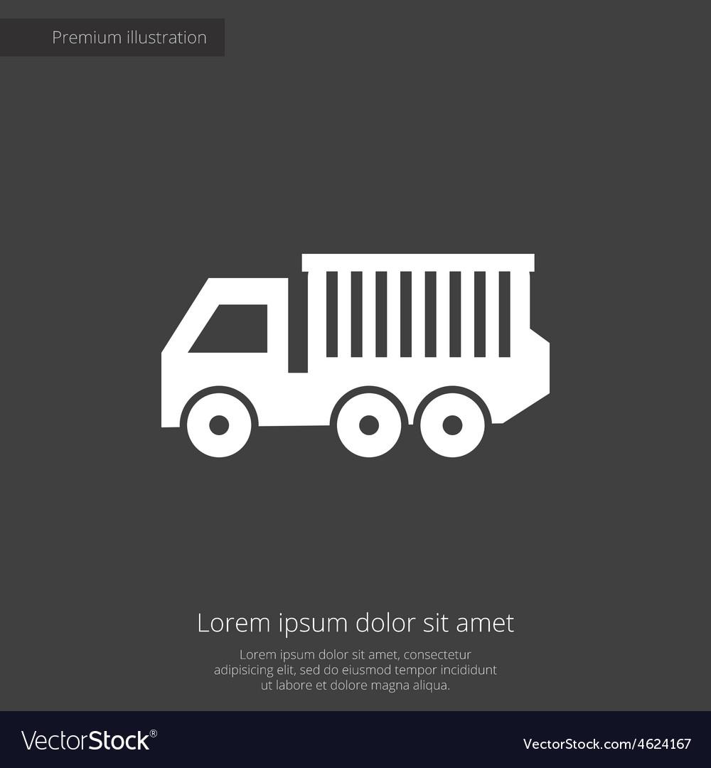Truck premium icon