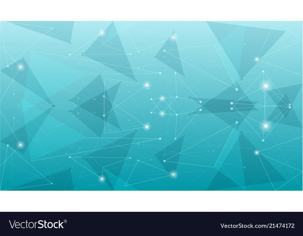 Abstract geometric blue polygonal background