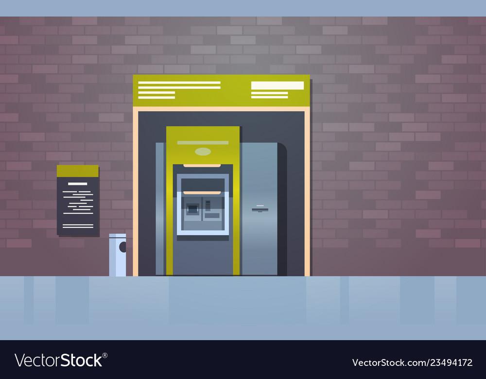 Atm cash automatic teller machine payment terminal
