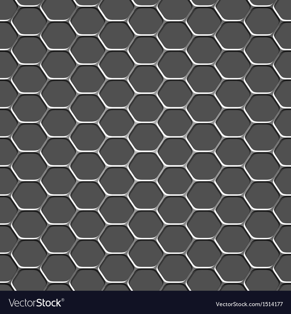 3d monochromatic honeycomb pattern background