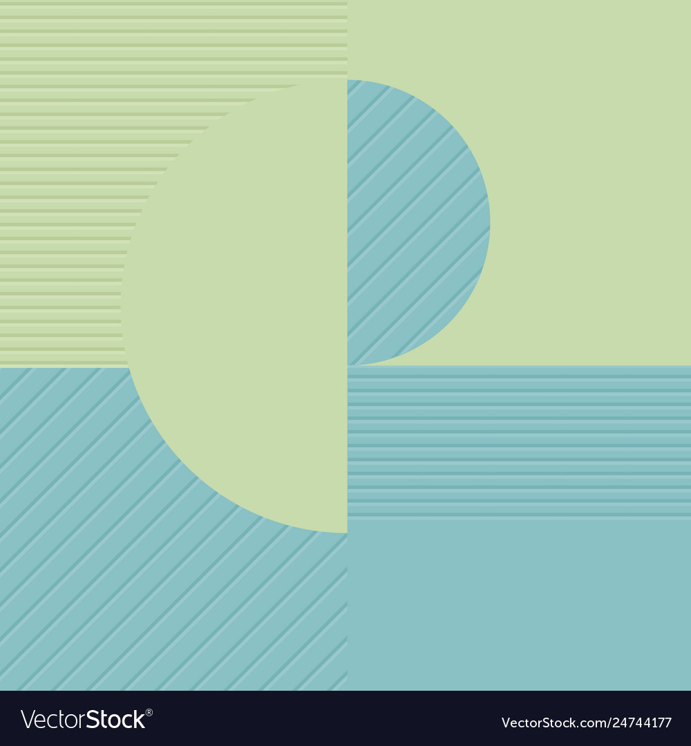 Blue and green geometric background