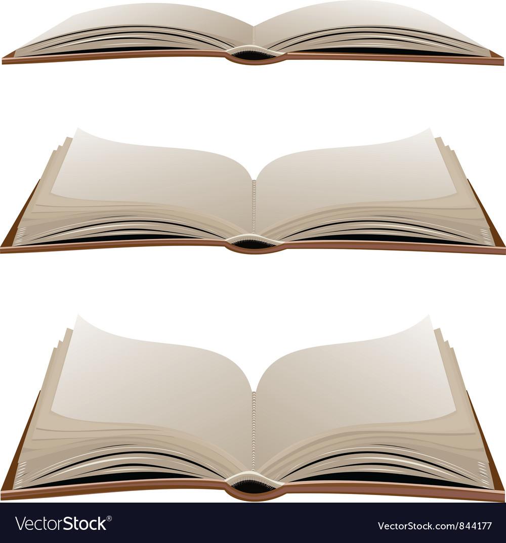 open book vector - HD1000×1075