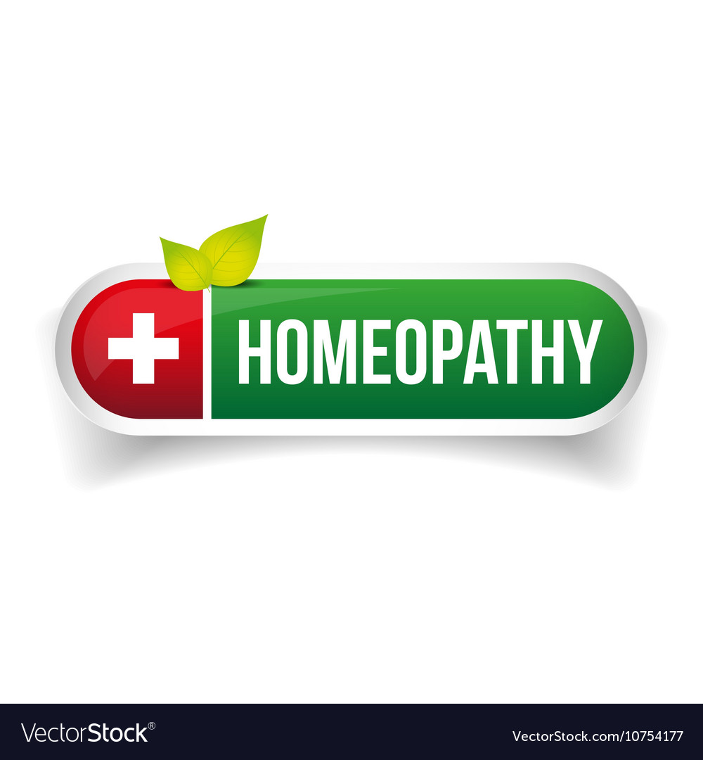 Homeopathy alternative medicine logo
