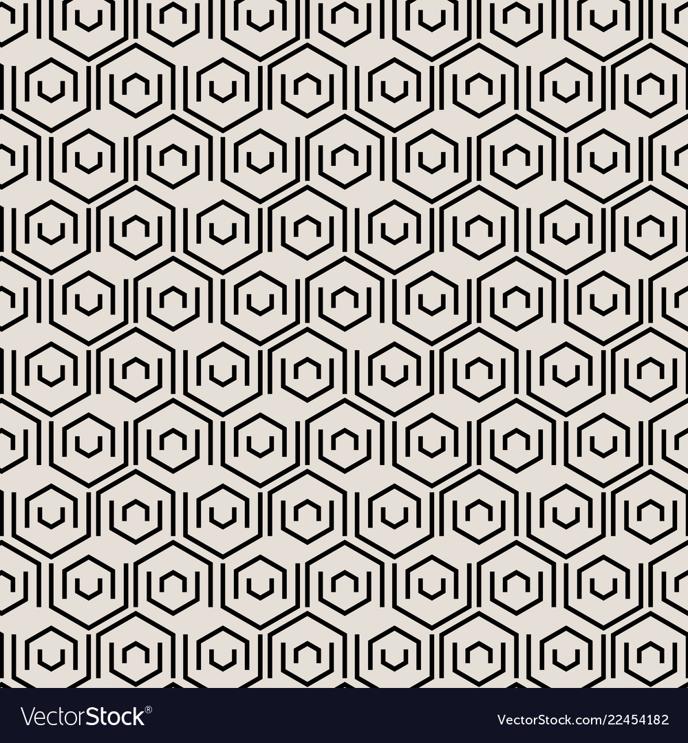 Abstract black geometric tiles pattern with