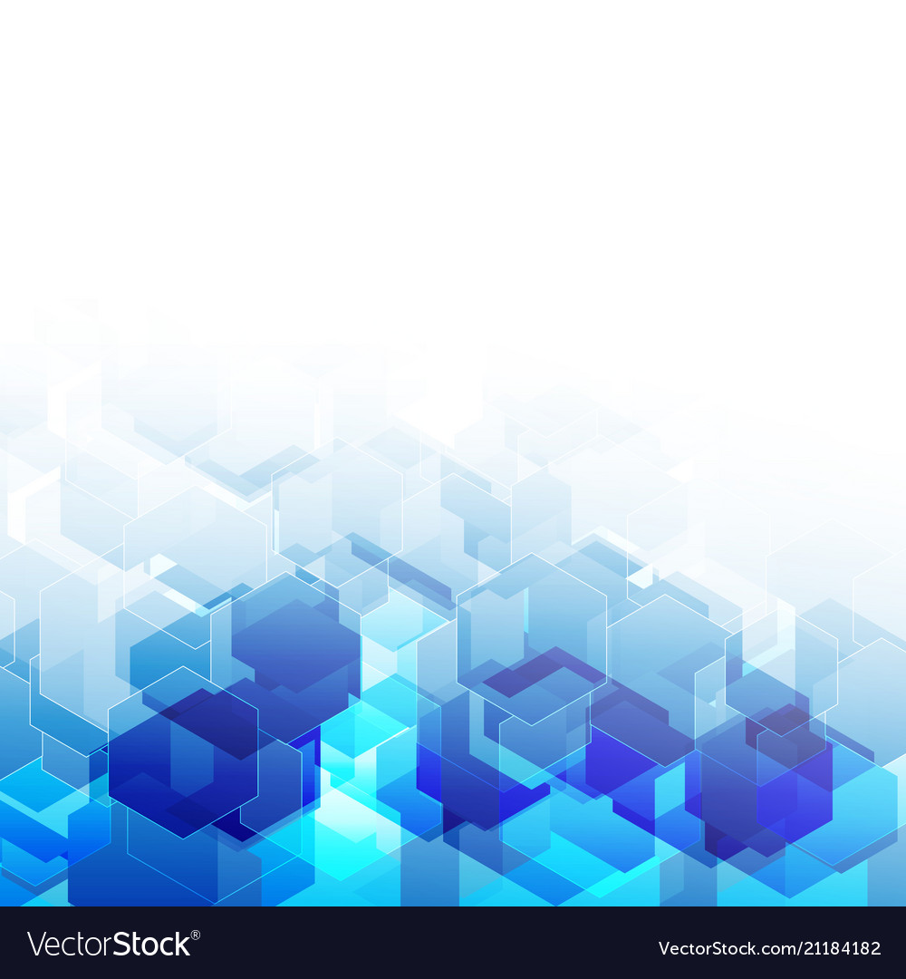 Abstract polygonal background hexagon design for