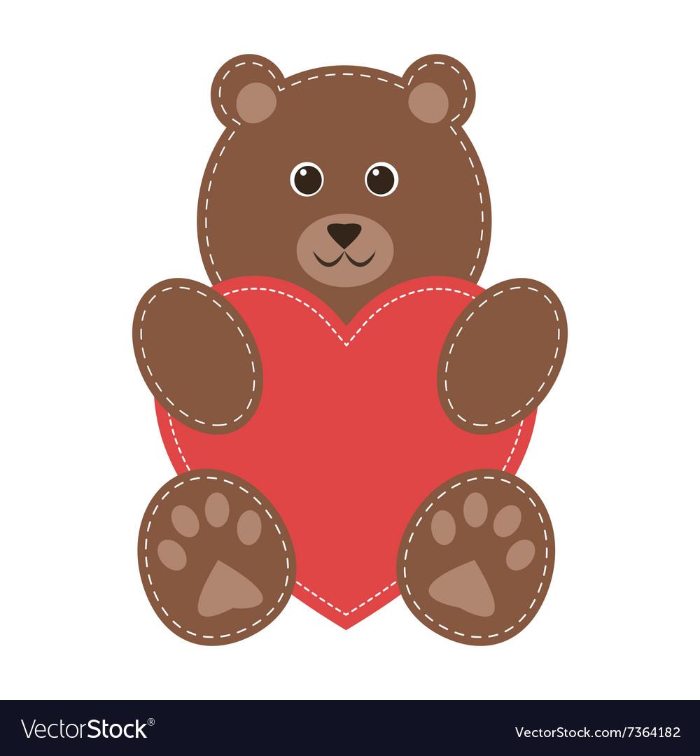 brown teddy cartoon