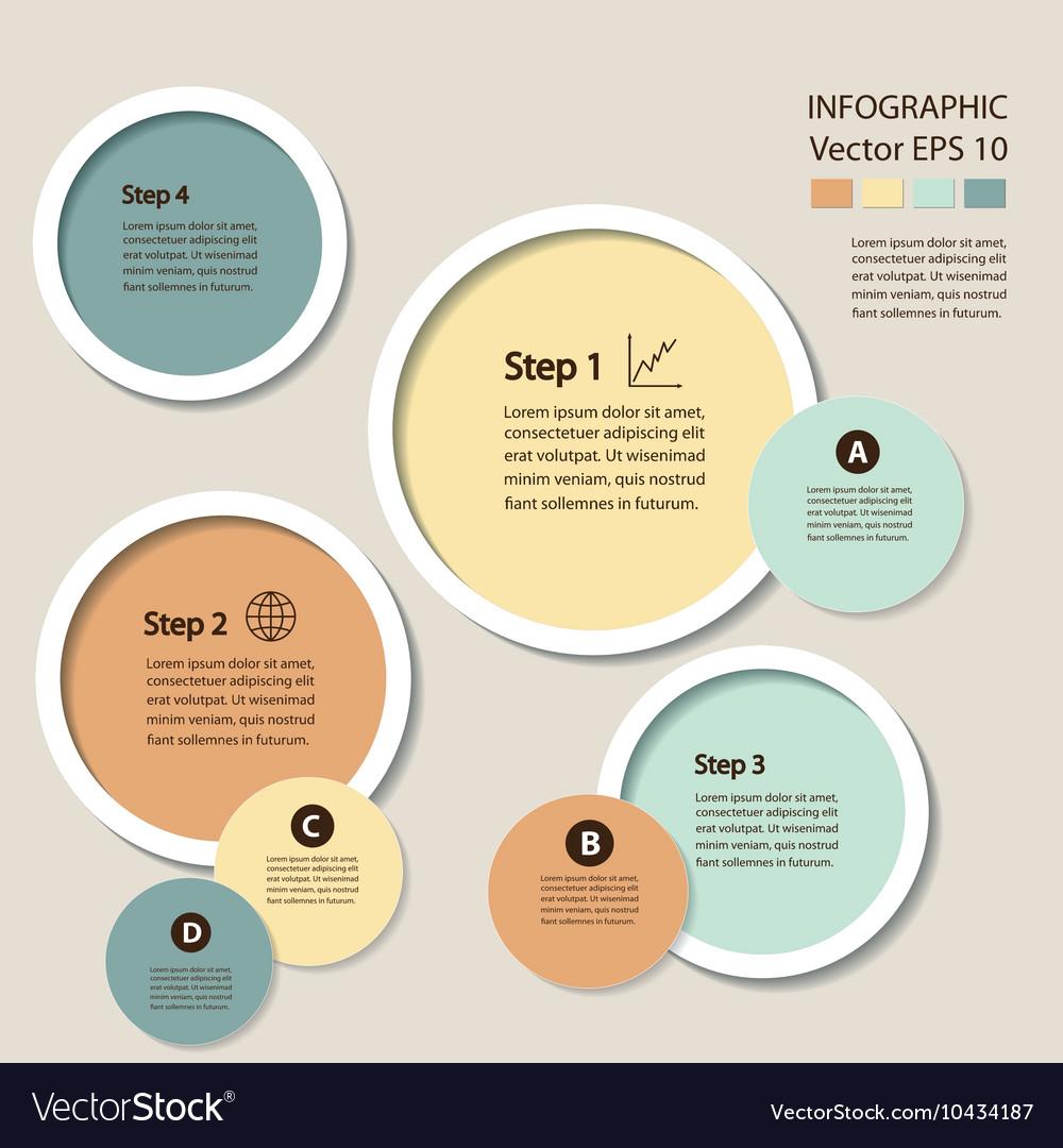Infographics Process chart module