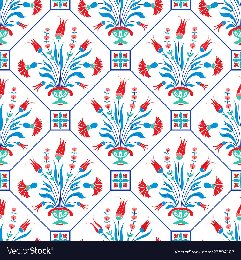 Traditional ottoman motif