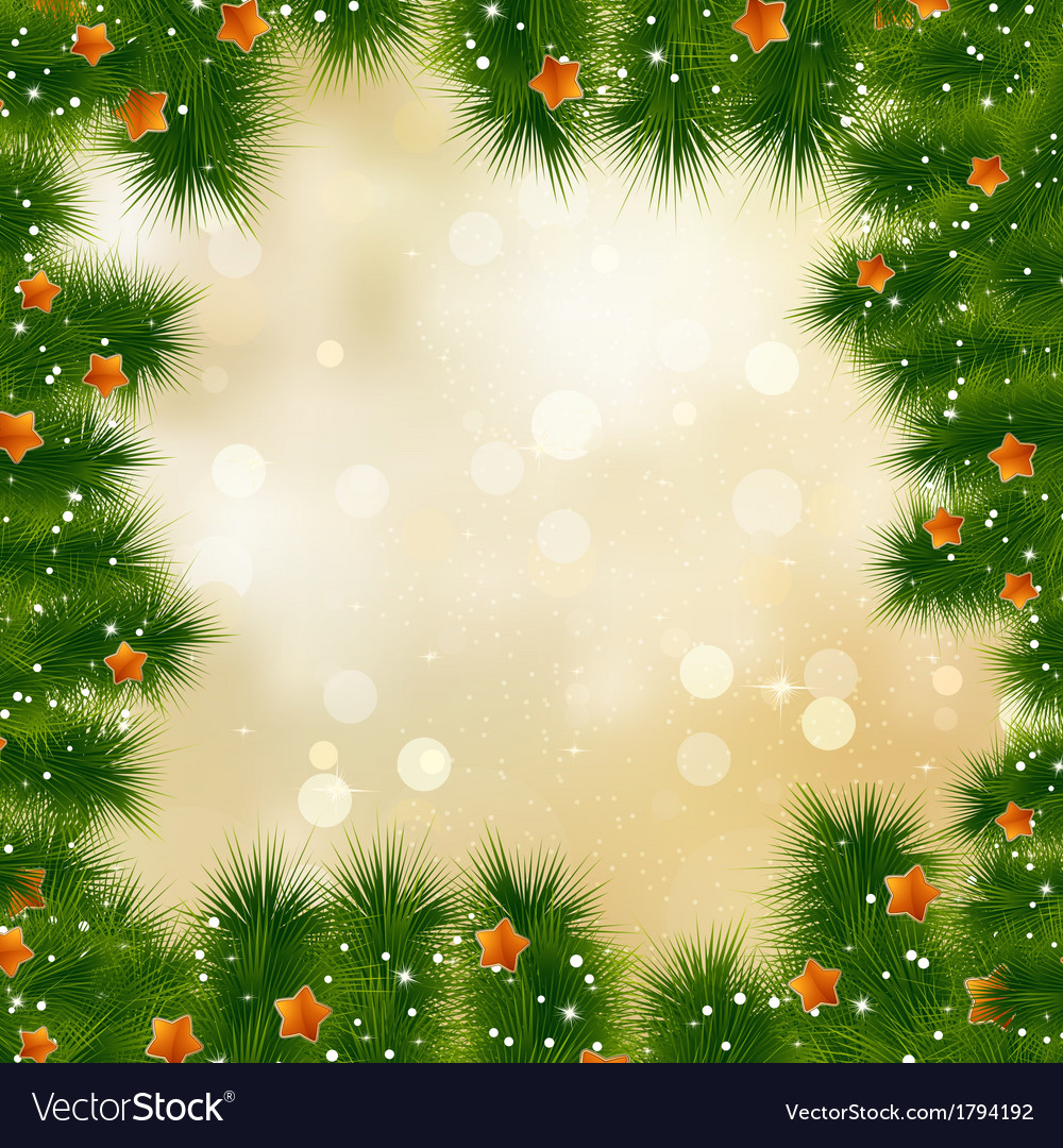 New year and cristmas card EPS 10 vector image
