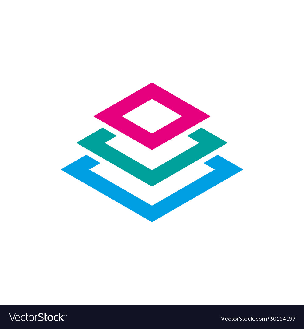 Icon design element abstract logo idea