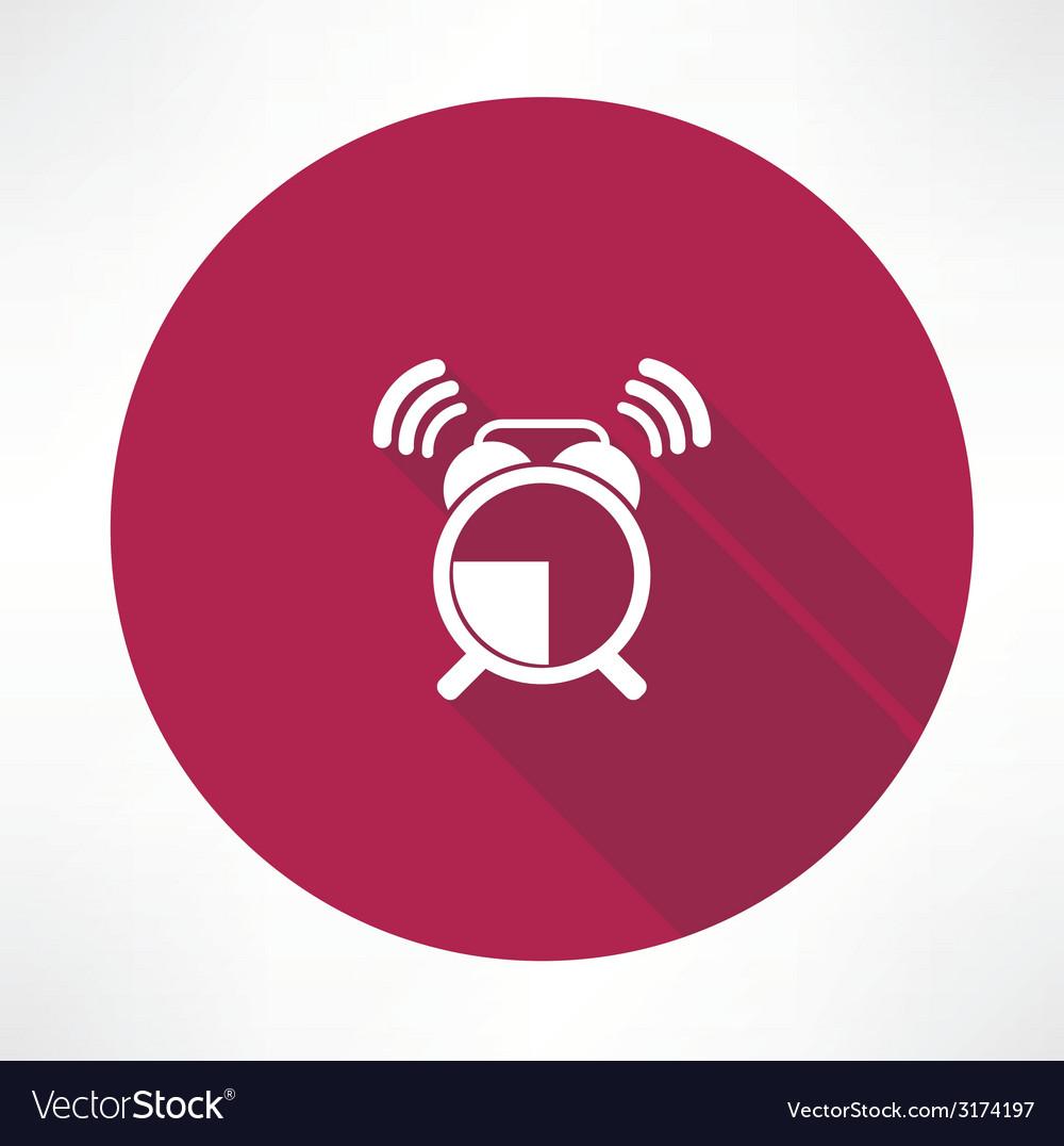 Ringing alarm clock icon