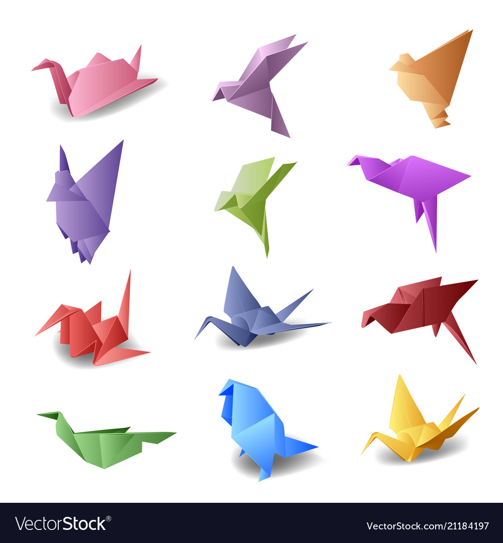 Origami Bird Instructions | Free Printable Papercraft Templates | 1080x1000