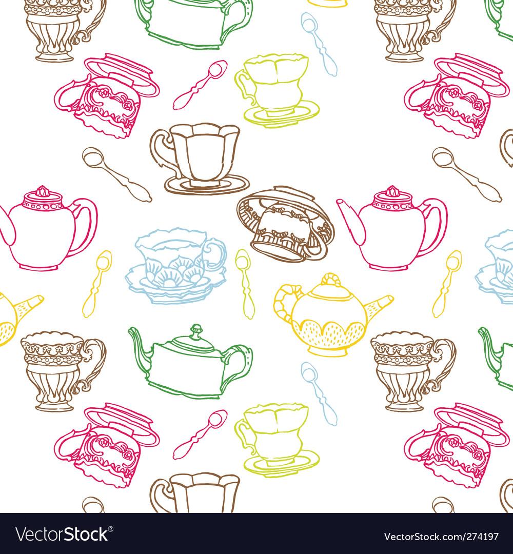 Teapot seamless
