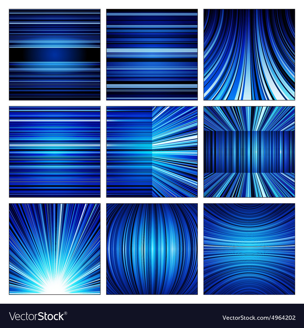 Abstract White Blue And Black Stripes Backgrounds
