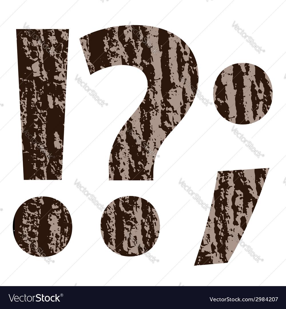 Bark question mark