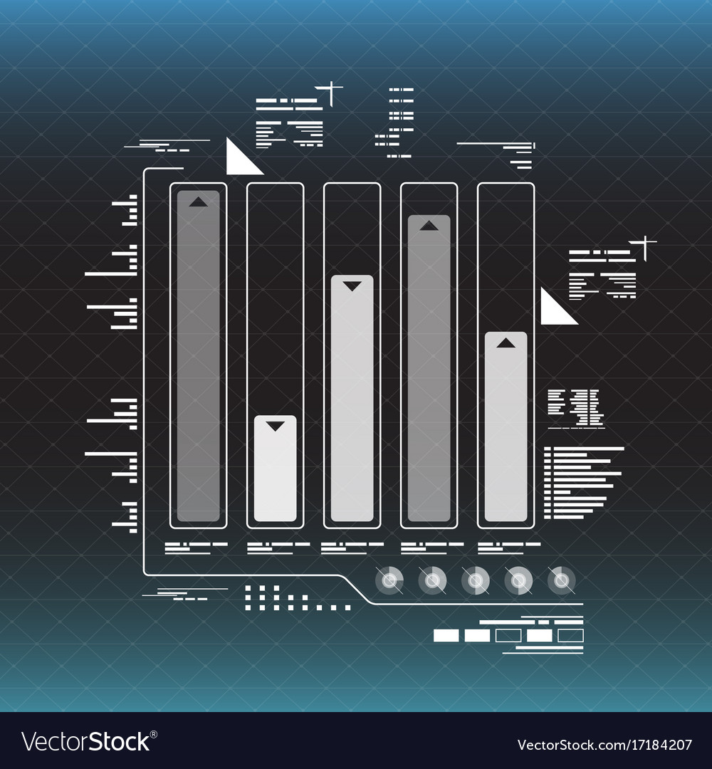 Info graphic elements futuristic user interface