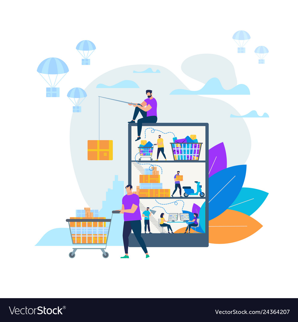 Online shopping and delivery