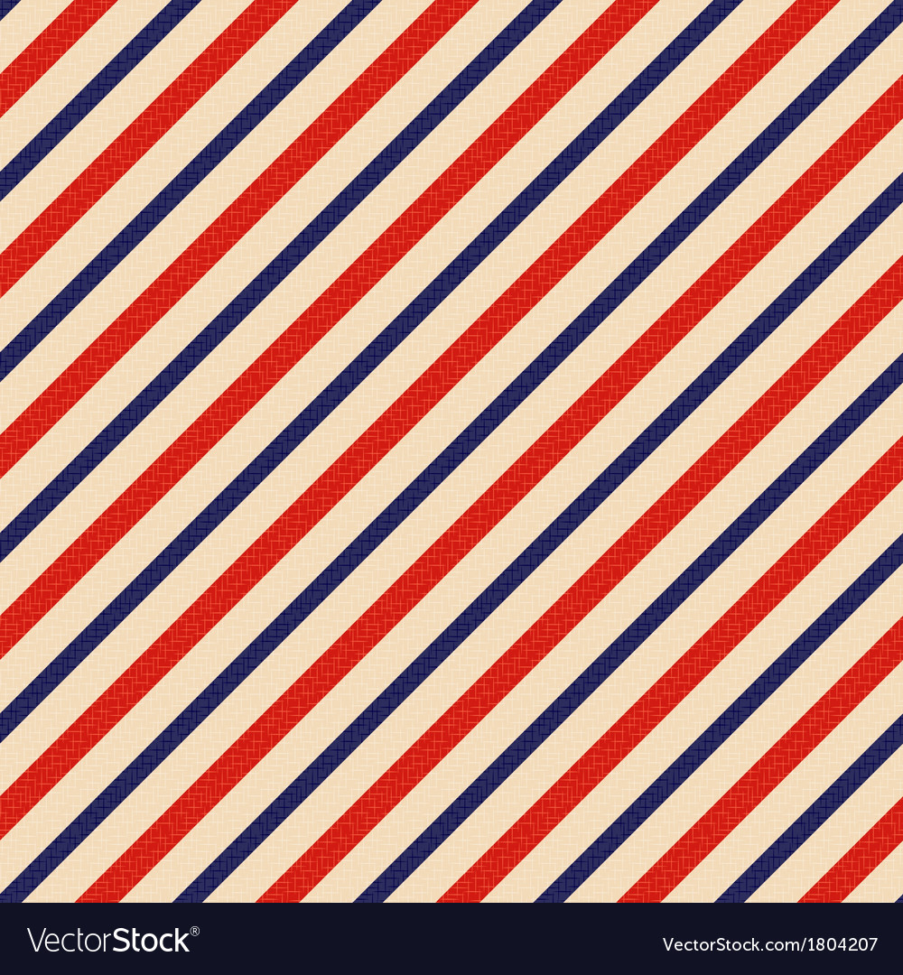 Seamless patriotic background vector image
