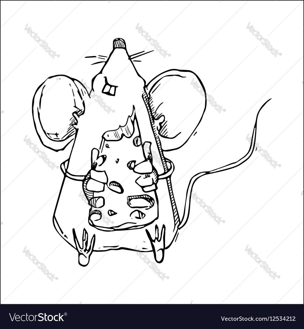 Cute Doodle Mouse