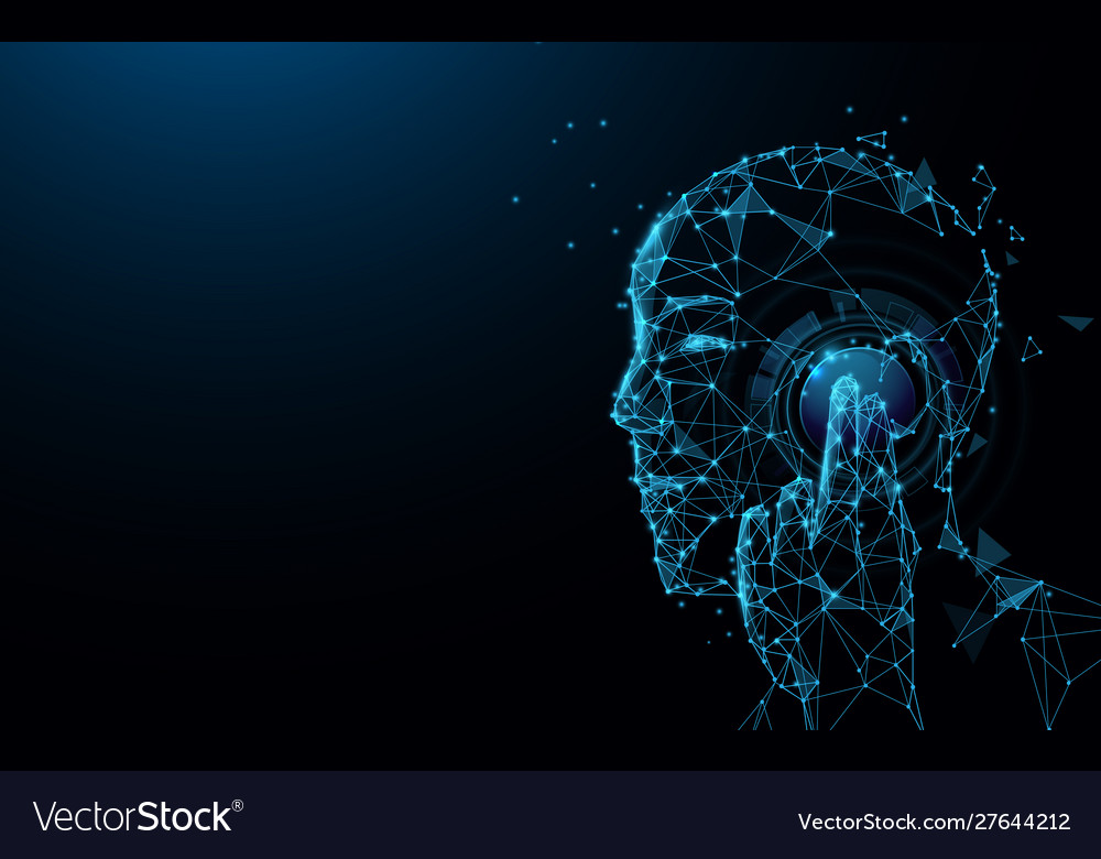 Futuristic telecommunication technology concept