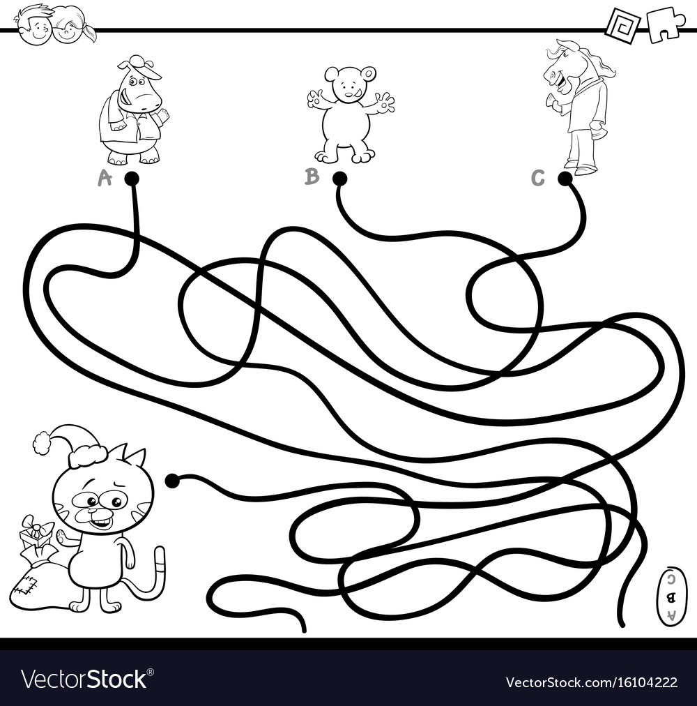 Winter Maze Puzzle - Auto Electrical Wiring Diagram | 1012x1000