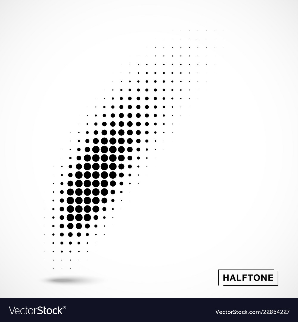 Halftone curved gradient texture curve smears