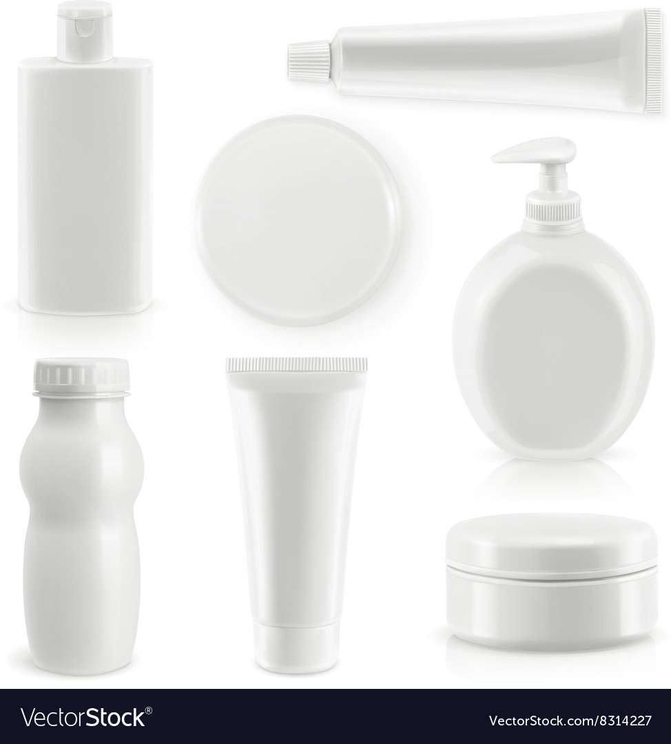 Plastic packaging cosmetics and hygiene