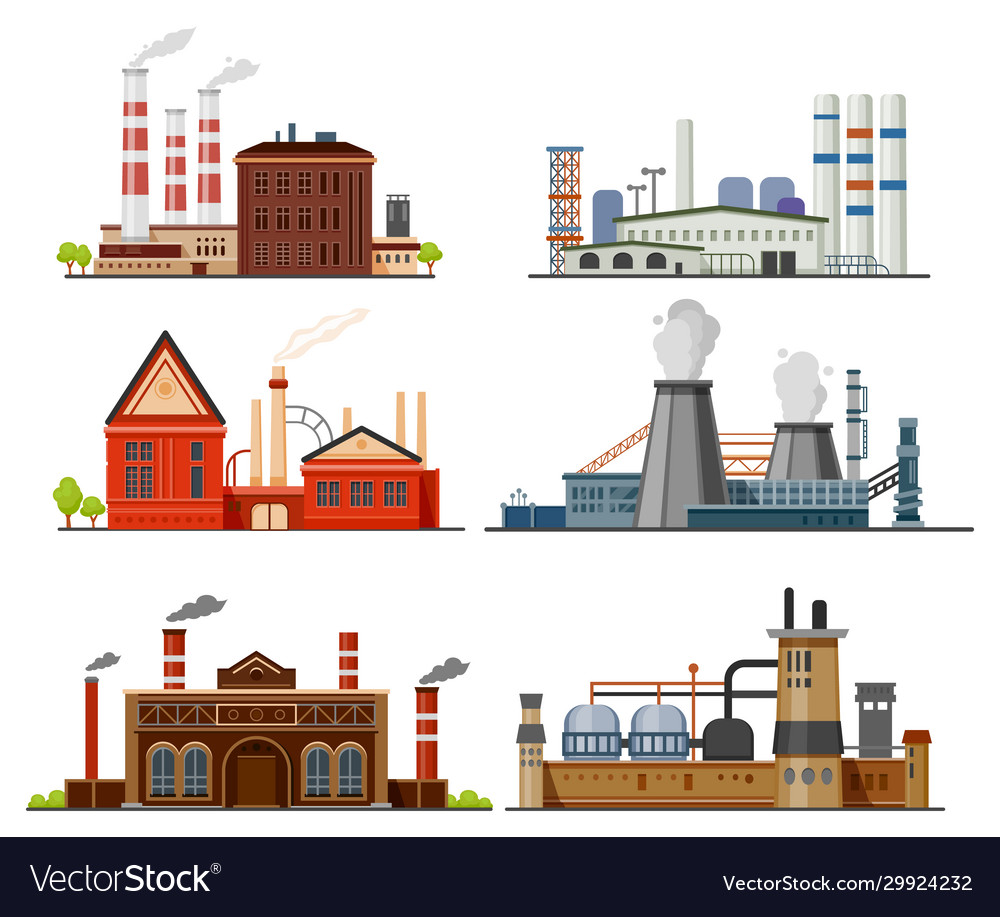 Industrial factory refinery plant manufacture